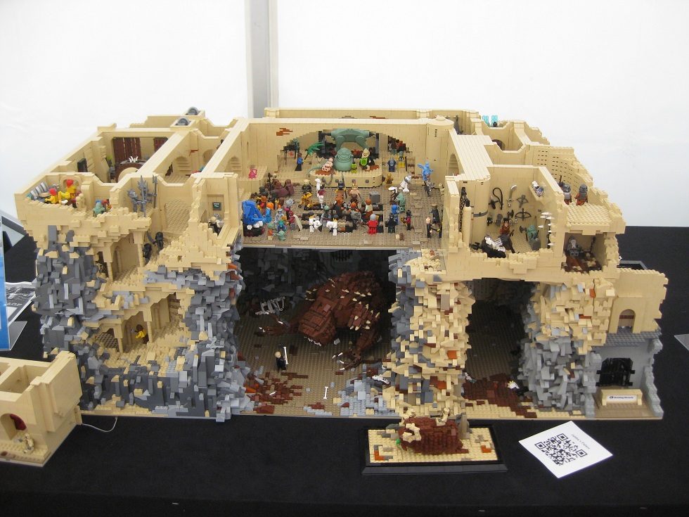 Cavort: LEGO 95... Jabba's Palace