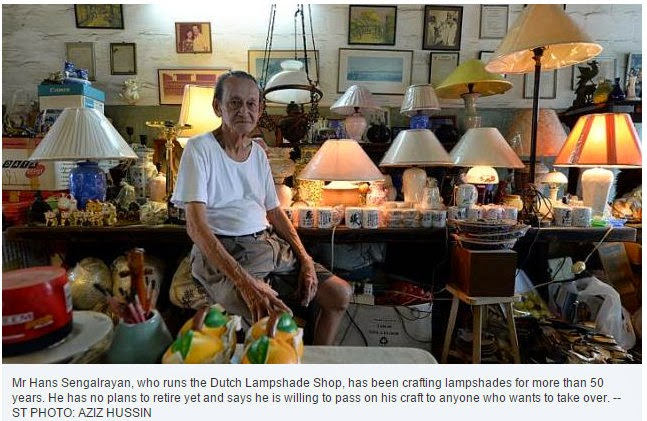 If only singaporeans stopped to think lampshade maker keeps family lampshade maker keeps family trade shining bright aloadofball Choice Image