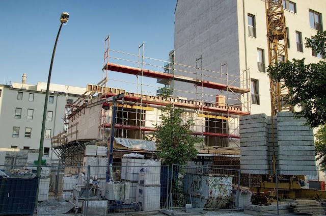 Baustelle Wohnhaus, Boyenstraße 37, 10115 Berlin, 07:07.2013