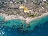 Ο κόλπος του Λεχαίου Κορινθίας, στην περιοχή της αρχαίας Διόλκου