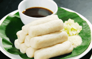 Makanan Khas Indonesia Pempek lenjer
