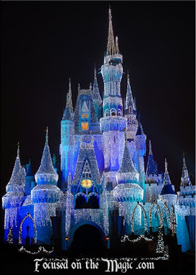 Cinderella Castle Focused on the Magic
