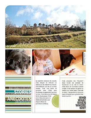 projet 52 semaines semaine 07 page de droite