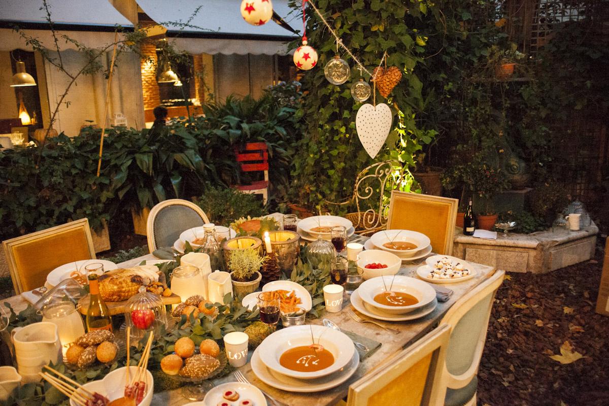 Sixsens by cari goyanes la indiana colonial - Decoracion de navidad para la mesa ...