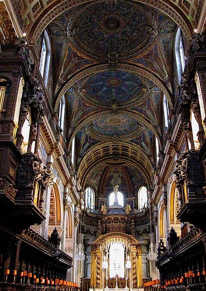 Interior of St Paul's Cathedral - London, UK | Travel London Guide