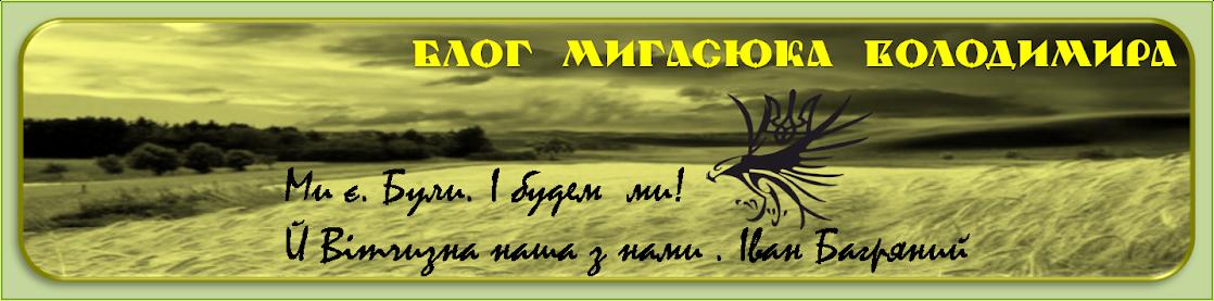 Блог Мигасюка Володимира