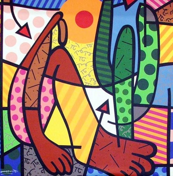 Cuadros Modernos: Arte pop con figura humana