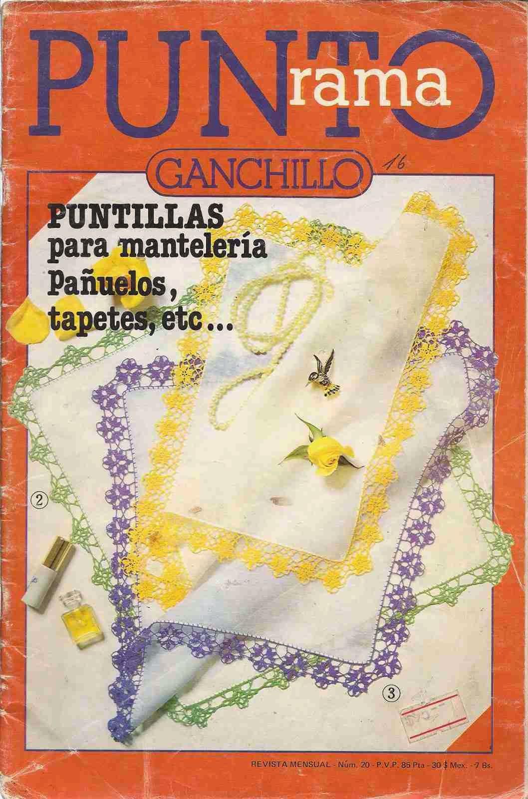 CTejidas [Crochet y Dos Agujas] — Revista #11: Punto Rama Ganchillo ...