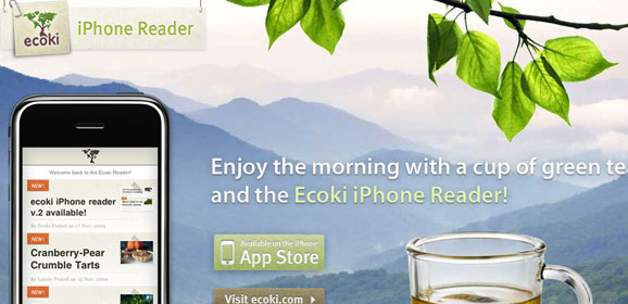 iPhone Reader: iphone application website