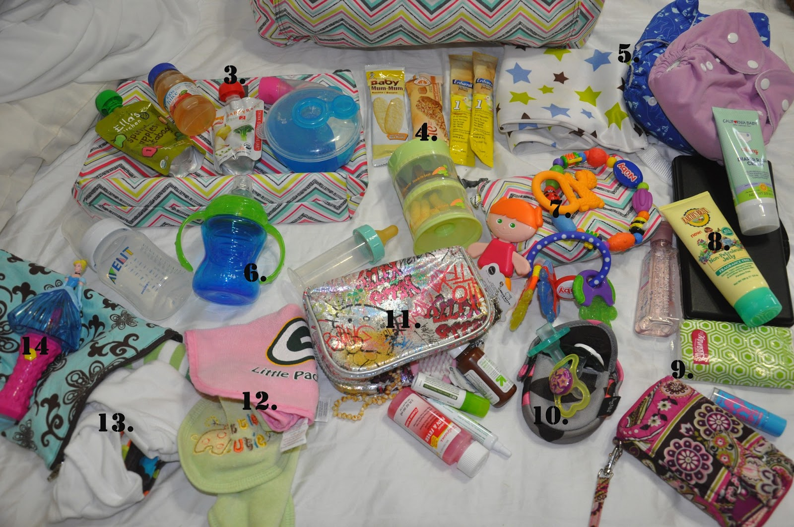 Eager Reborn Sunshine: What's in Your Diaper Bag, Chelsey?