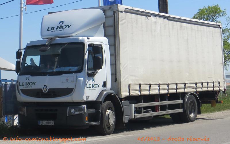 Info camions renault premium le roy logistique - Le roy logistique ...