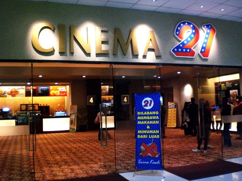 Dibawah ini ada daftar sejumlah bioskop cinema 21 21cineplex yang