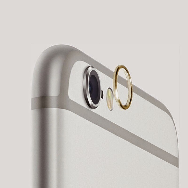 Lens Protective Case Cover Ring Installed for Apple iPhone 6/Plus Camera Lens