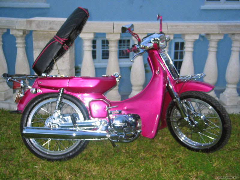 ide modifikasi motor yamaha 80