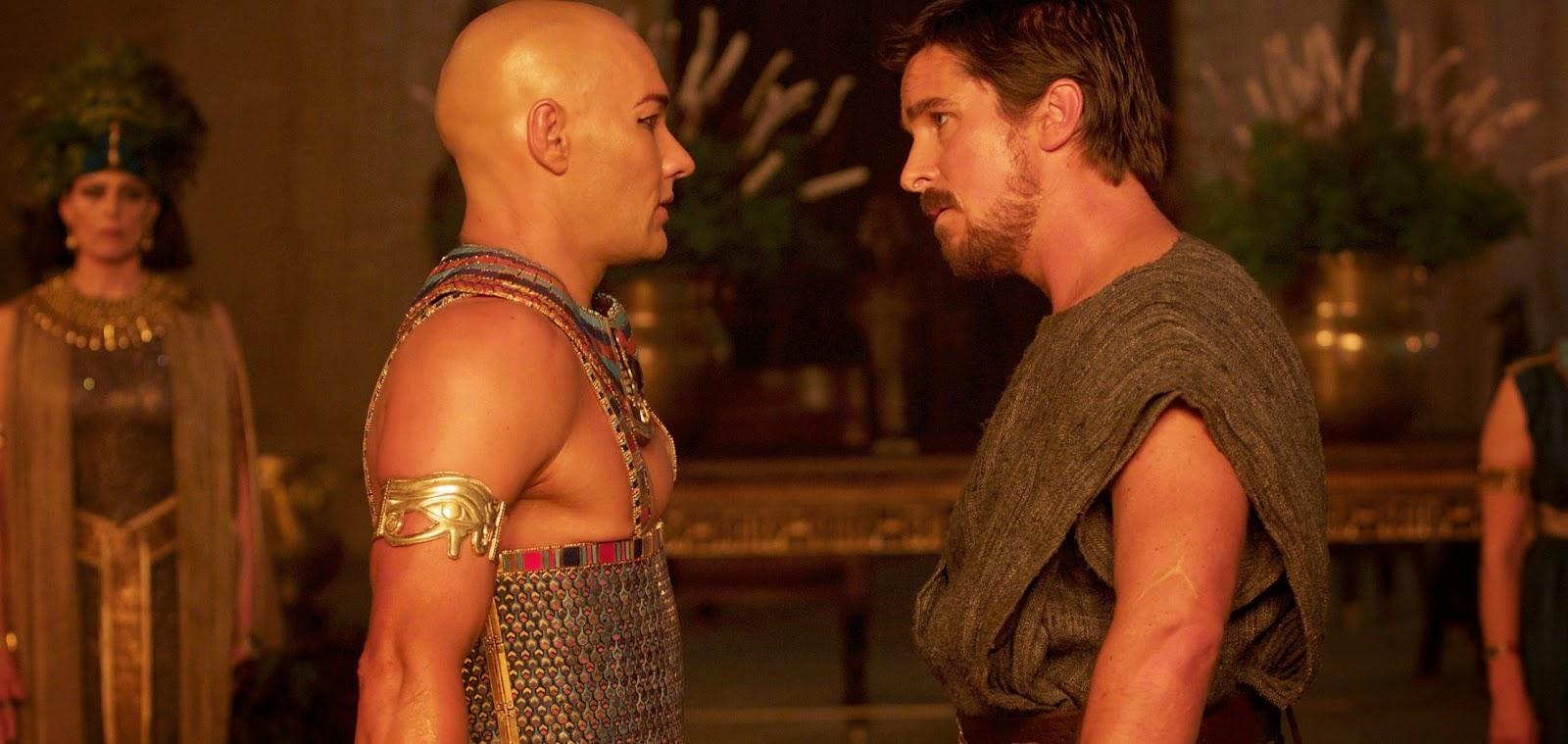 Christian Bale e Joel Edgerton nos pôsteres e imagens inéditas do épico bíblico Exodus: Gods & King