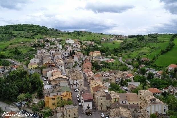 Roccascalegna, vista dal castello