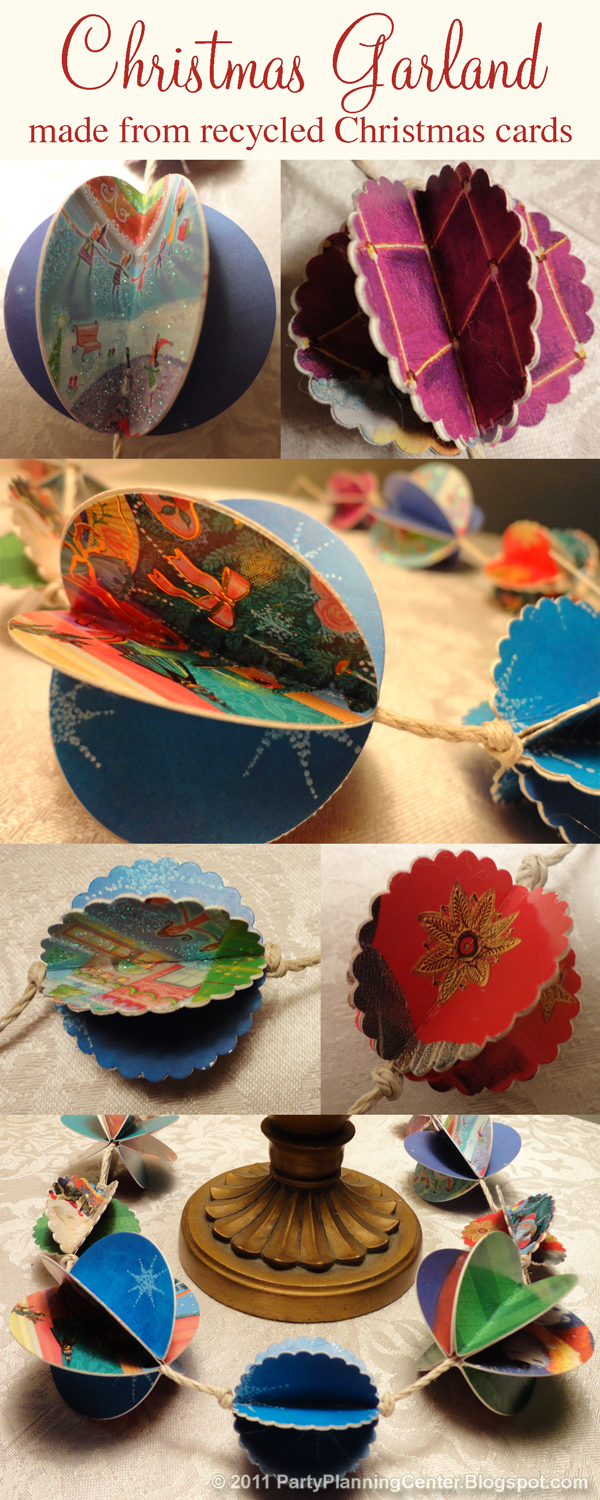 How To Make Christmas Decorations Out Of Recycled Paper : Party planning center how to make recycled paper