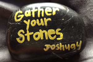 Love ths idea of painting our stones!