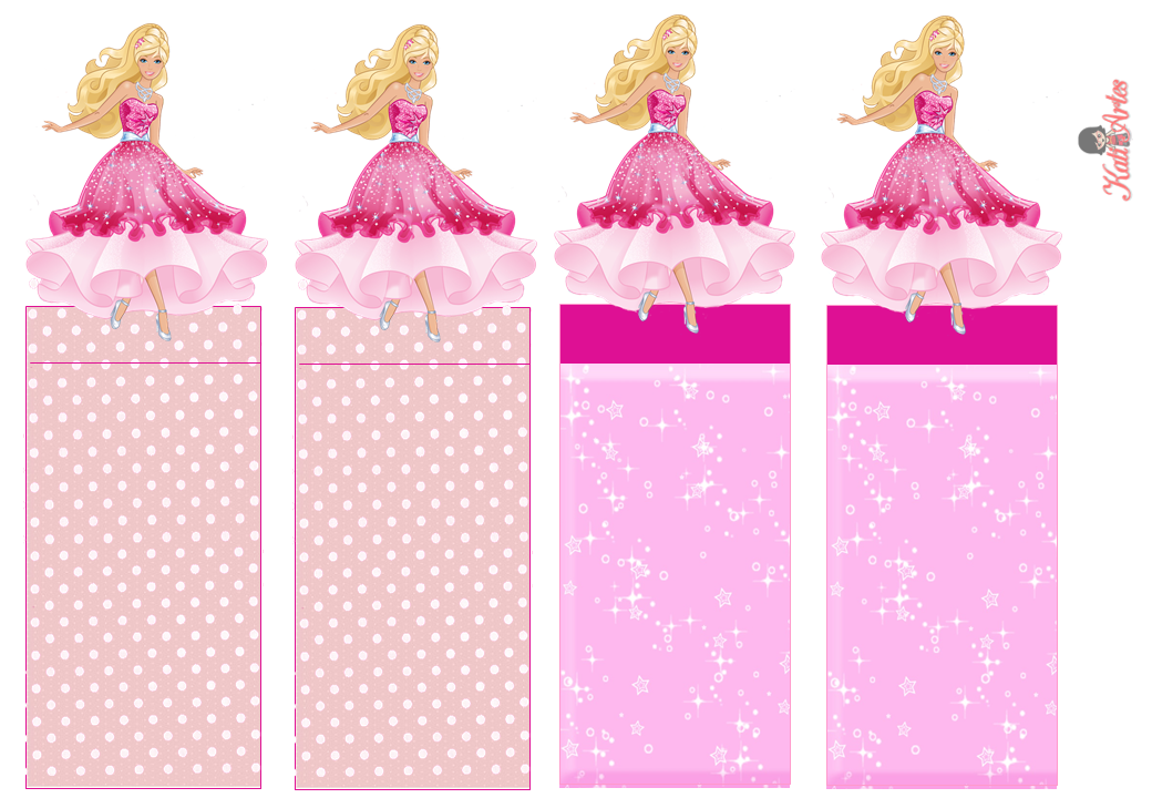 Barbie free printable original nuggets wrappers is it for parties