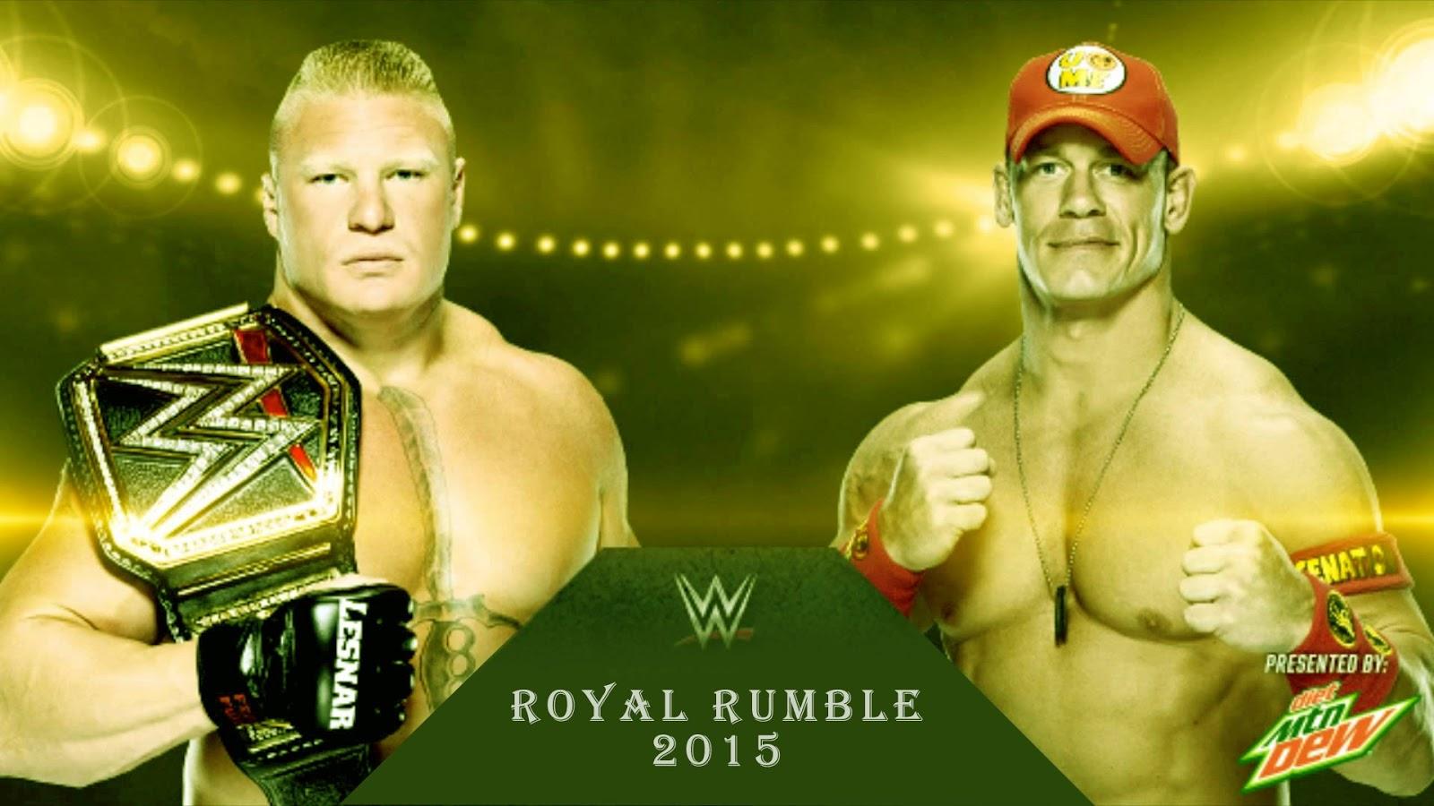 John Cena Royal Rumble 2015 Wallpaper HD