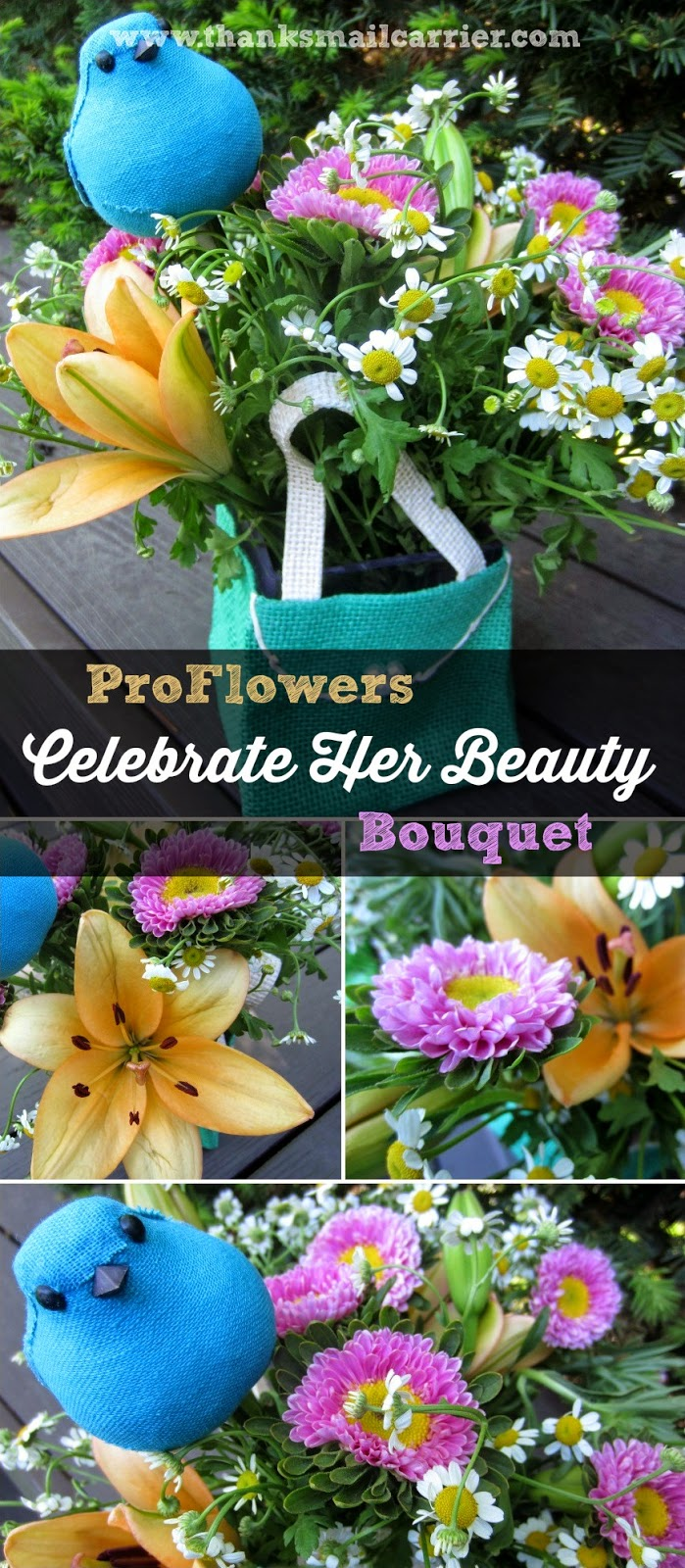 Celebrate Her Beauty bouquet