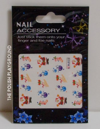 Born Pretty Store Christmas Water Nail Decals