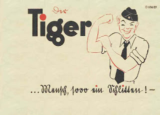 Die Tigerfibel 1943, (Tiger users manual 1943).