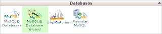 Arafa Daming - cPanel MySQL Wizard