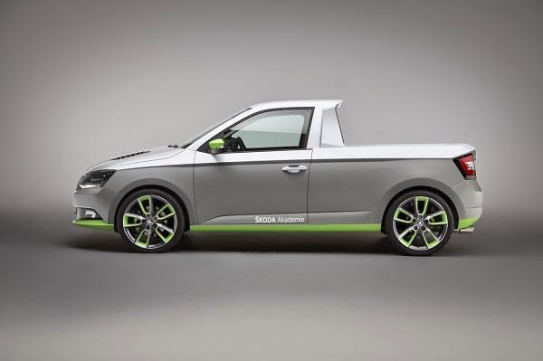Skoda Fabia pick-up FUNstar