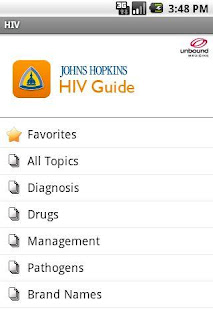 app vih johns hopkins