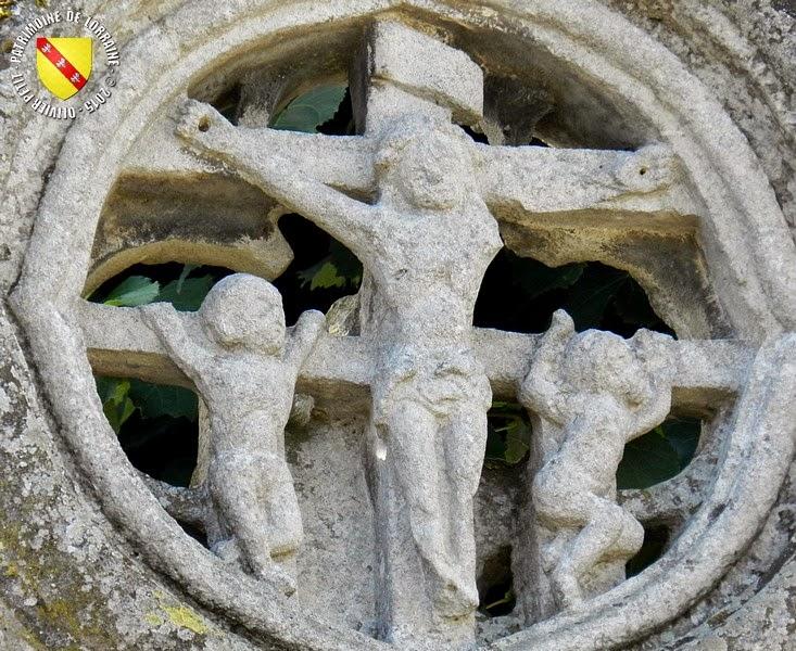 MAZIROT (88) - Croix de chemin (XVe siècle)