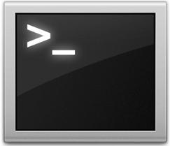 Mac OS X Terminal Window