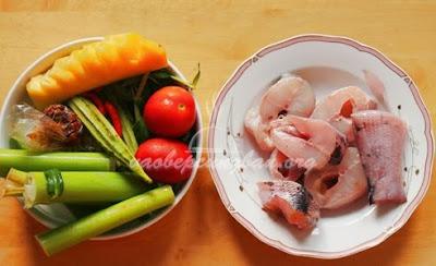 Cách nấu canh chua cá lóc Miền Tây 1