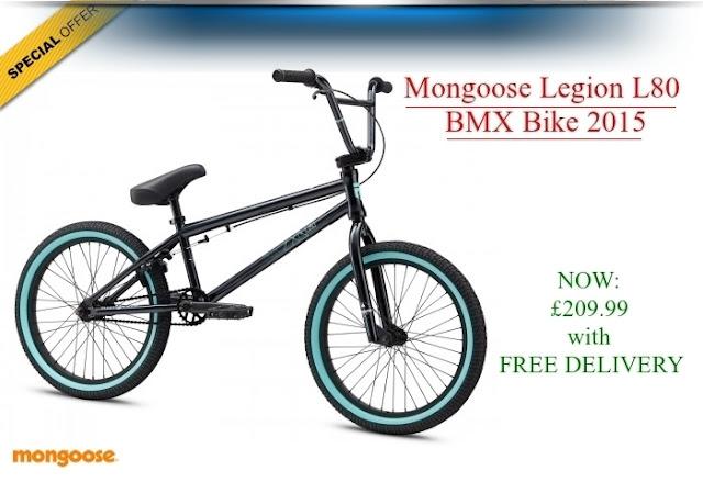 2015 BMX Bike: Mongoose Legion L80
