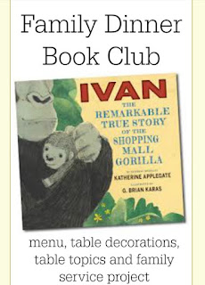 http://growingbookbybook.com/2015/06/01/family-dinner-book-club-ivan/