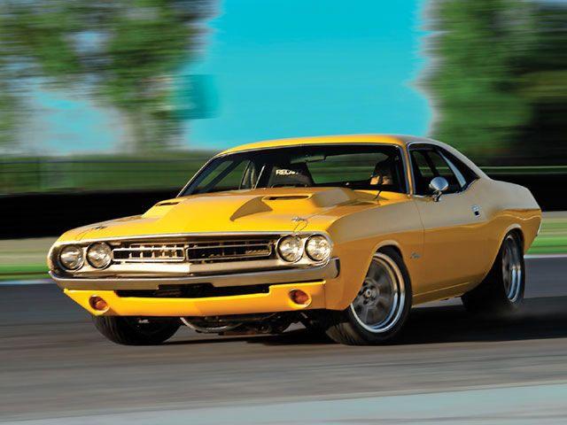 ダッジ・チャレンジャー 初代(1970-1974) Dodge Challenger 6 V8 R/T T/A