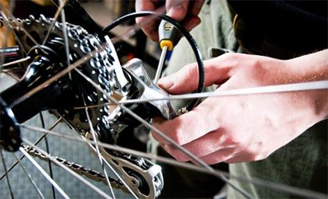 regular cambios bicicleta