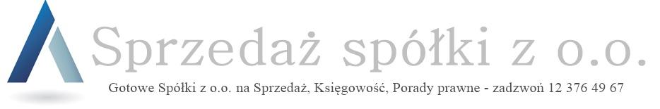 <center>SPRZEDAŻ SPÓŁKI Z O.O.: nowe i stażowe, cała Polska </center>