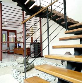 Desain Tangga Kayu Minimalis Modern