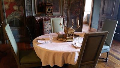 Château de Hautefort. Menjador