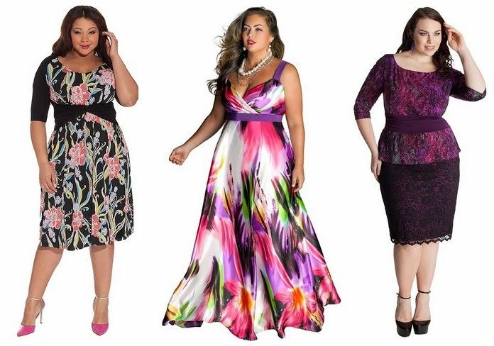 Imagenes de vestidos de noche para señoras gorditas