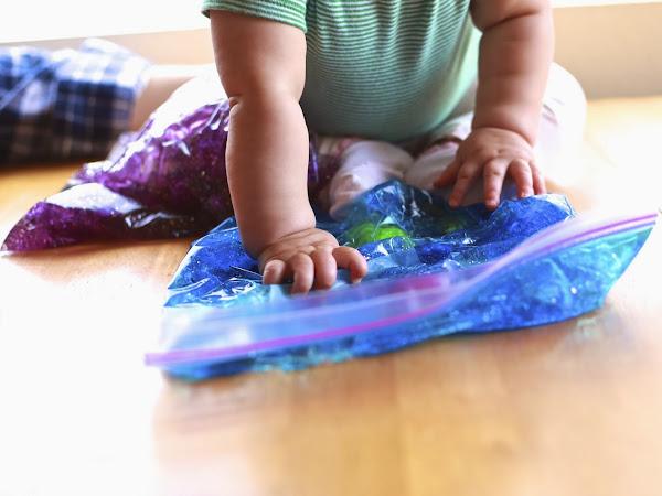 DIY Baby Sensory Bag