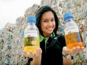 Unit Konversi Limbah Plastik dan Ban Bekas Menjadi BBM