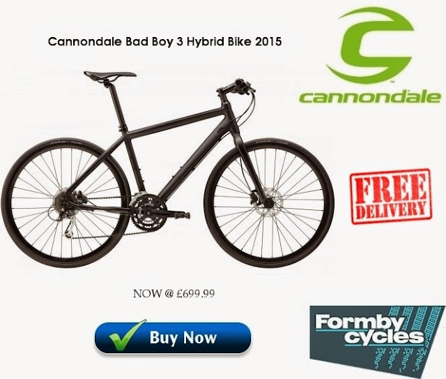 2015 Hybrid Bike: Cannondale Bad Boy 3