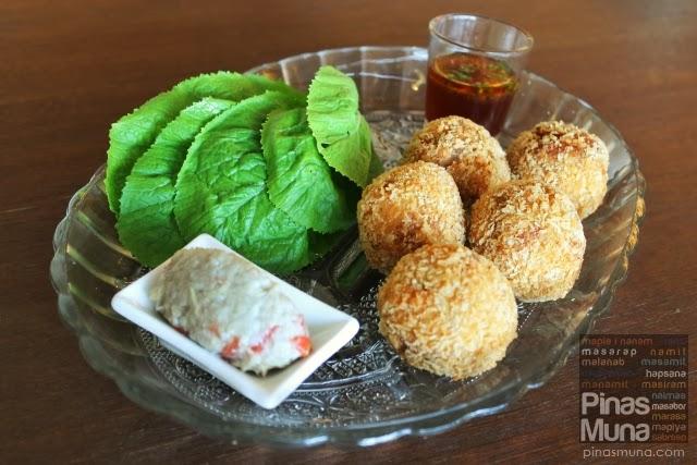 Pinac - Crispy Hito Balls, Mustasa & Buro