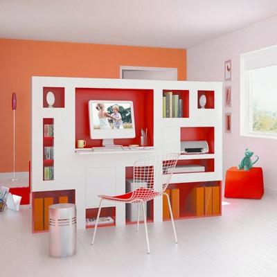 Separadores de ambiente melamina melamine for Ambientes de oficinas modernas