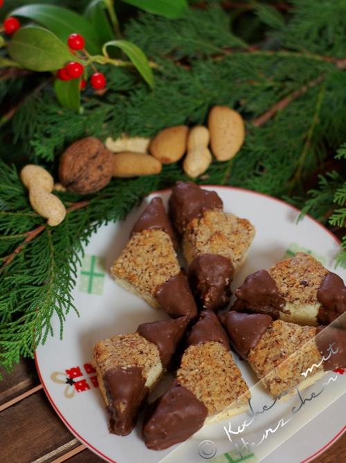 Weihnachtsbäckerei - Nussecken