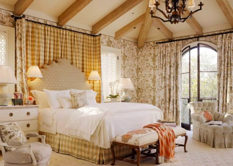 French Bedroom Designs & Decors.   Interiors Blog