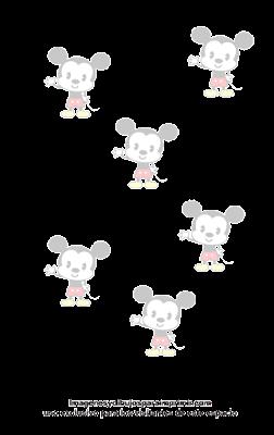 mickey mouse en folios para imprimir