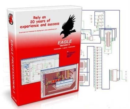 cadsoft eagle professional 6.1.0 free download